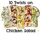 Photo of 10 Twists on Chicken Salad Sandwich Recipes by Rachael Ray …