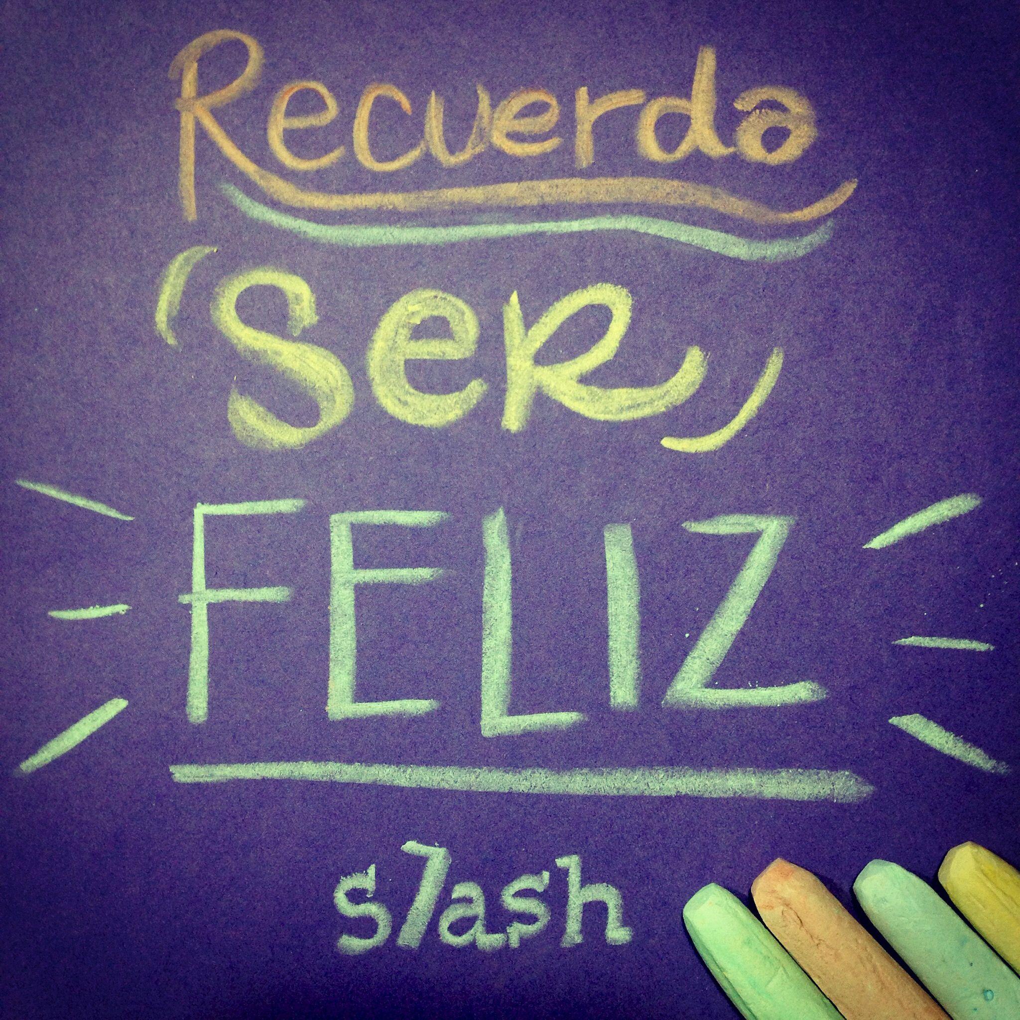 Recuerda ser feliz Be Happy | Frases - Quotes | Pinterest