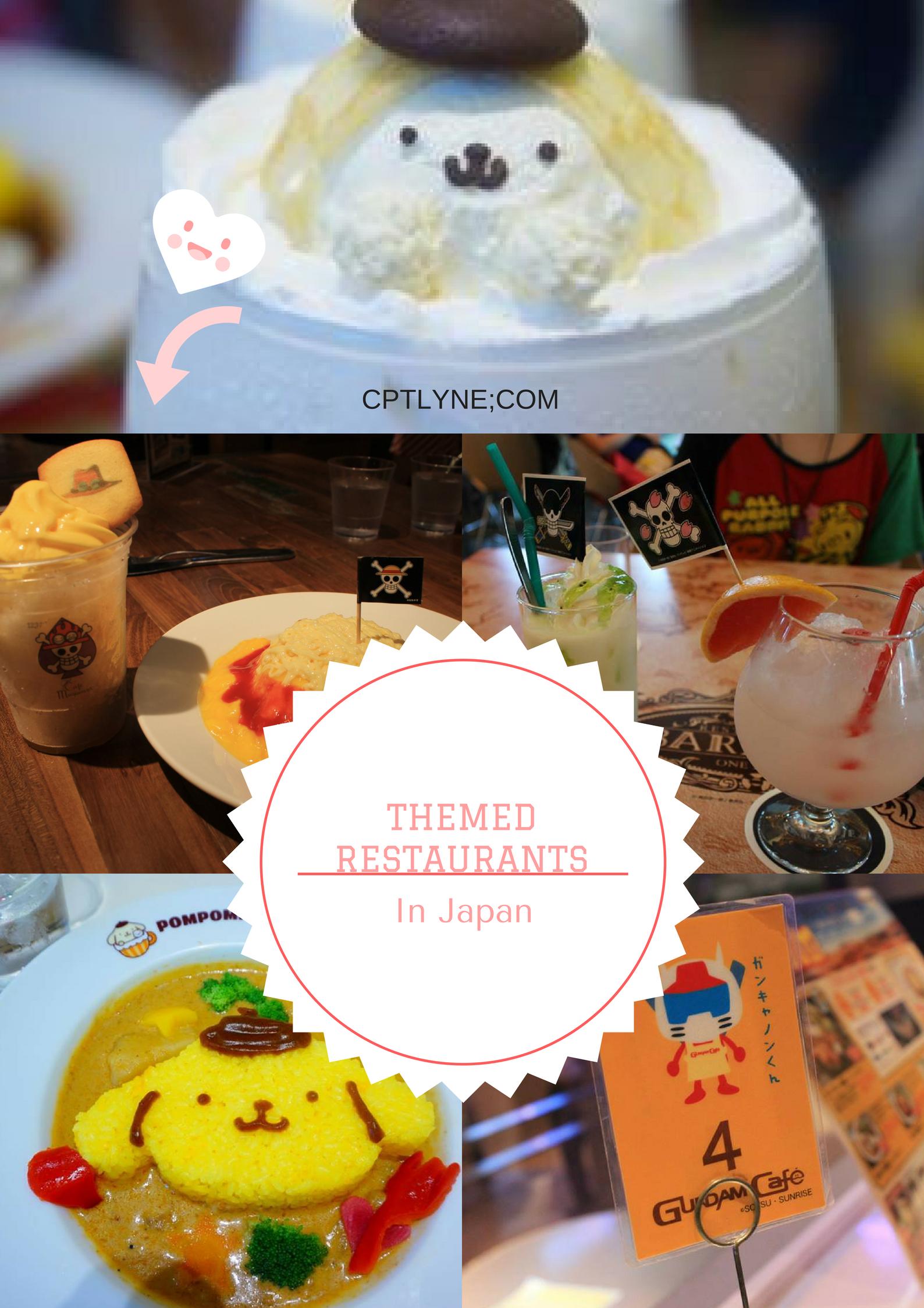 Themed restaurants in Tokyo Japan, Japan travel, Tokyo