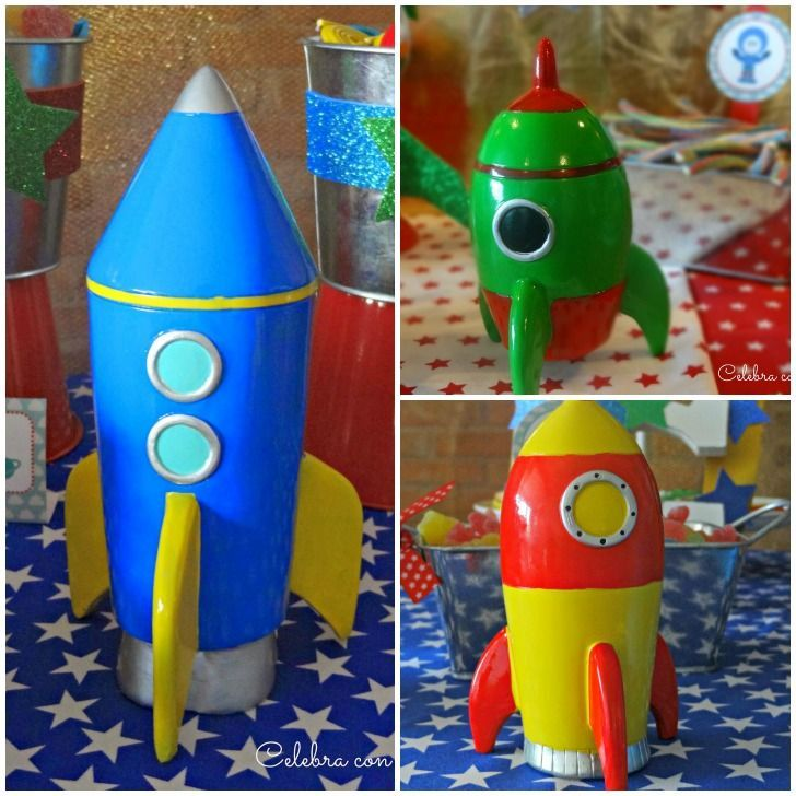 Fiesta infantil de cumplea os paseo espacial de celebra - Decoracion de cumpleanos infantiles ...