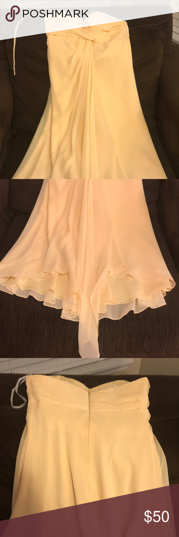 Cute dress for any occasion worn only once occasion wear yellow