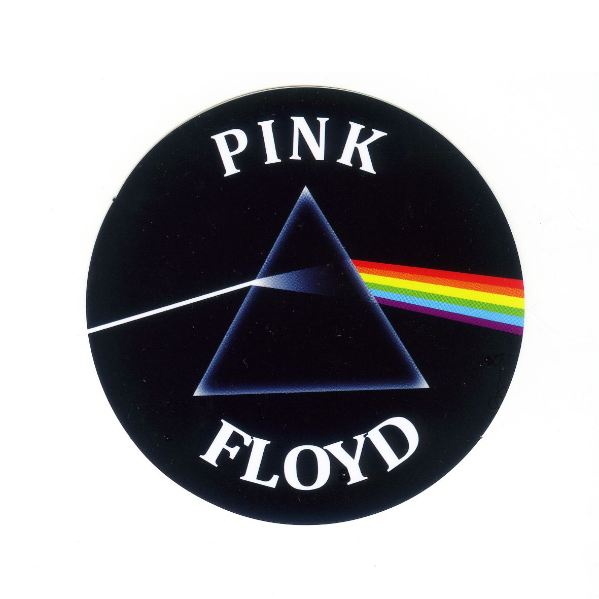 1608 Pink Floyd Dark Side Of The Moon Height 8 Cm Decal Sticker