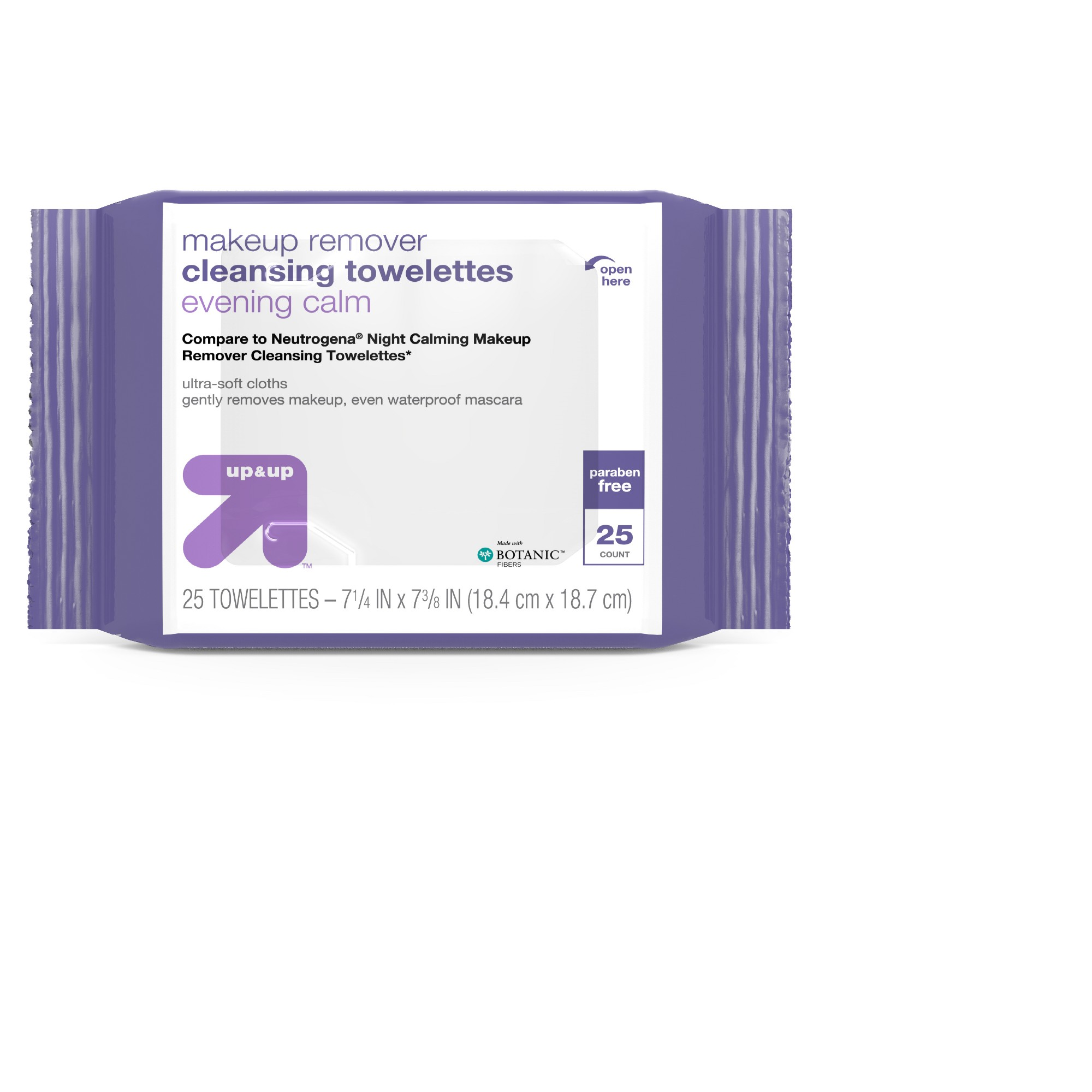 Makeup Remover Cleansing Towelettes 25ct Up&Up