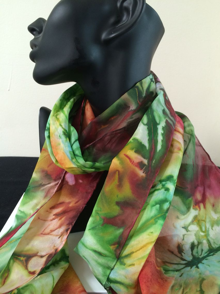 100 Silk Hand Painted Scarves Www Carolina K Co Uk Painted Scarf Hand Painted Scarves Fashion