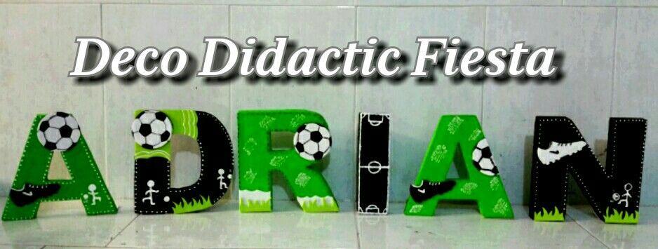 Letras decoradas fútbol soccer  5e64d264f5724