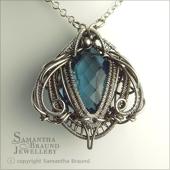 Samantha braund jewellery necronomicon necklace inspired by h r samantha braund jewellery necronomicon necklace inspired by h r giger aloadofball Choice Image