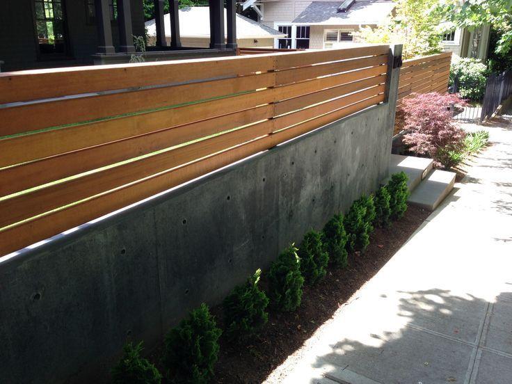1000 Ideas About Concrete Retaining Walls On Pinterest Modern Fence Design Concrete Retaining Walls Fence Design