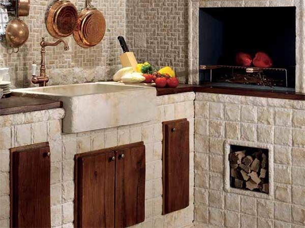 cucine in muratura modena reggio emilia ? rustiche moderne country ... - Mattonelle 10x10 Cucina In Muratura