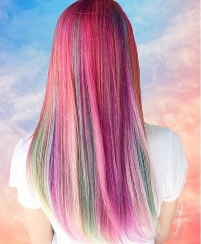 Bunny Hair Color Tint Pastel Baby Pink Hair Styles In