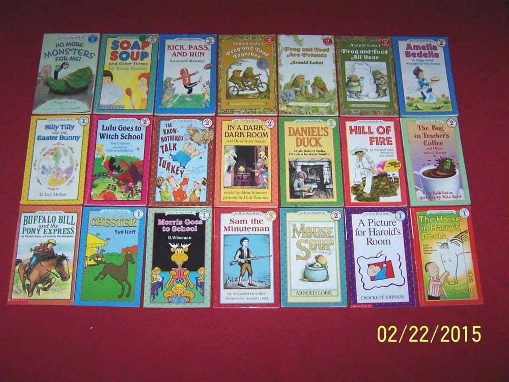 Lot 21 Children\'s Readers~1st-2nd Grade Books~AN I CAN READ Book ...