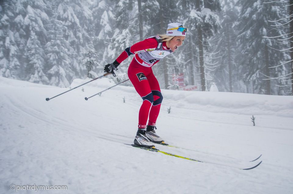 Therese Johaug, CrossCountry Cup in Jakuszyce 2012