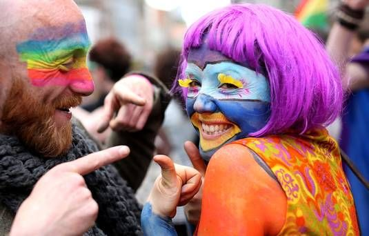 Ireland takes to the street to celebrate after marriage referendum is passed Ireland  #Ireland