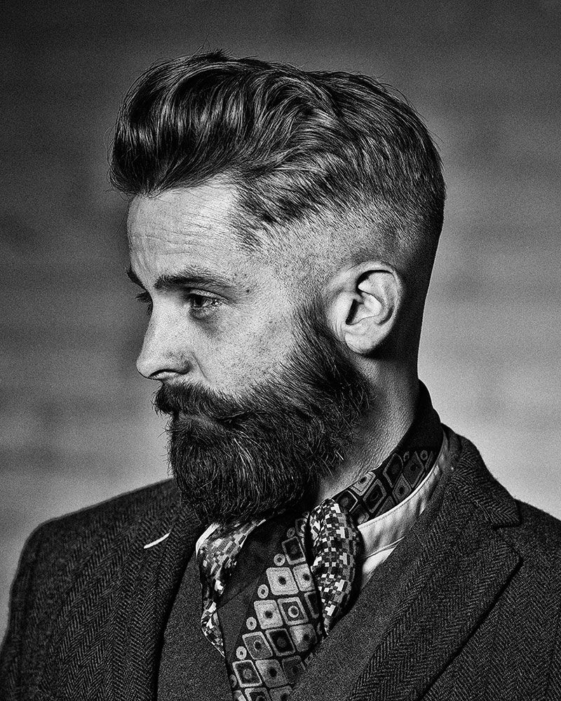 Mens haircuts with beards meet the naha finalist andrew carruthersmenus hairstylist