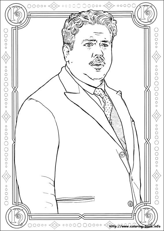 Fantastic Beasts And Where To Find Them Coloring Picture Animal Coloring Books Coloring Pages Fantastic Beasts And Where
