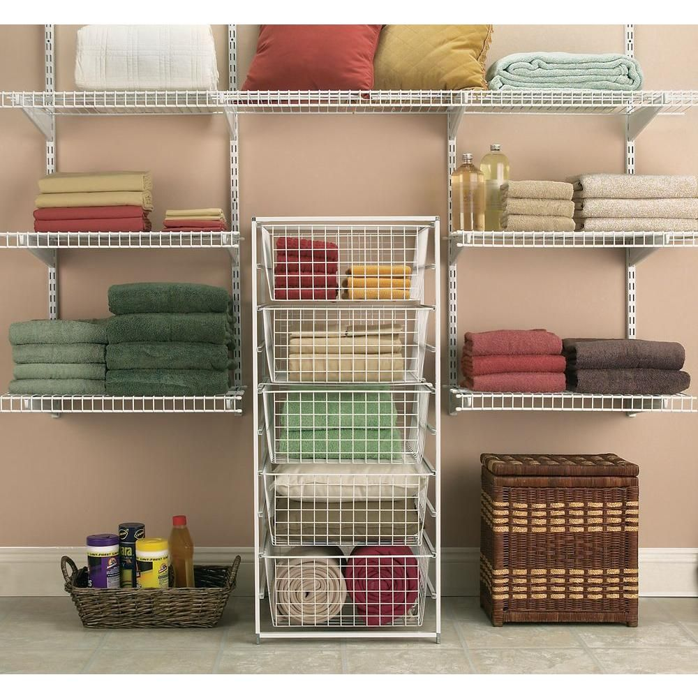 Superieur ClosetMaid 17 In. Drawer Kit With 5 Wire Baskets 6202   The Home Depot