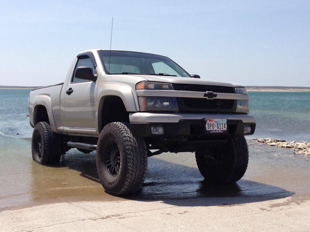 Colorado chevy colorado 2.5 lift : reg cab lift vs tire size - Chevrolet Colorado & GMC Canyon Forum ...