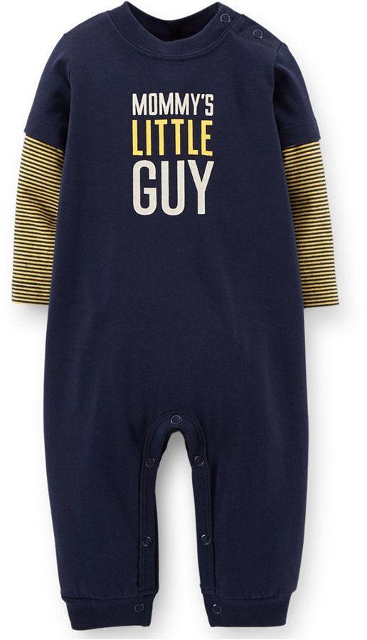 Carter's Baby Boys' Mommy's Little Guy Jumpsuit
