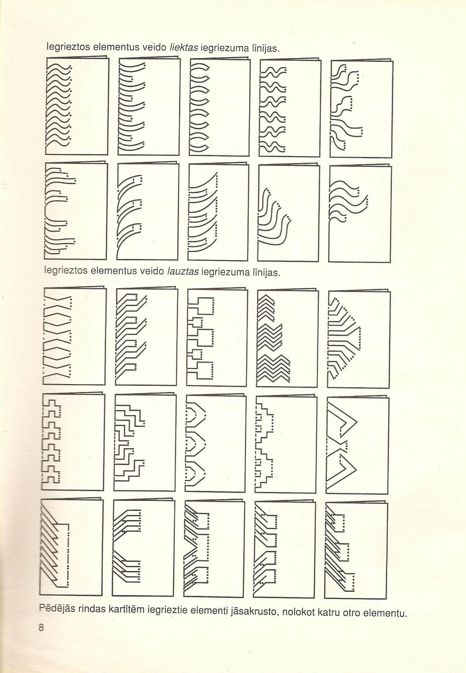 Pin de Agustina Azor en Kirigami | Pinterest | Kirigami plantillas ...