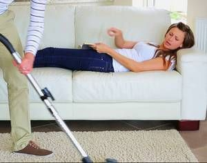 Real women don t do housework