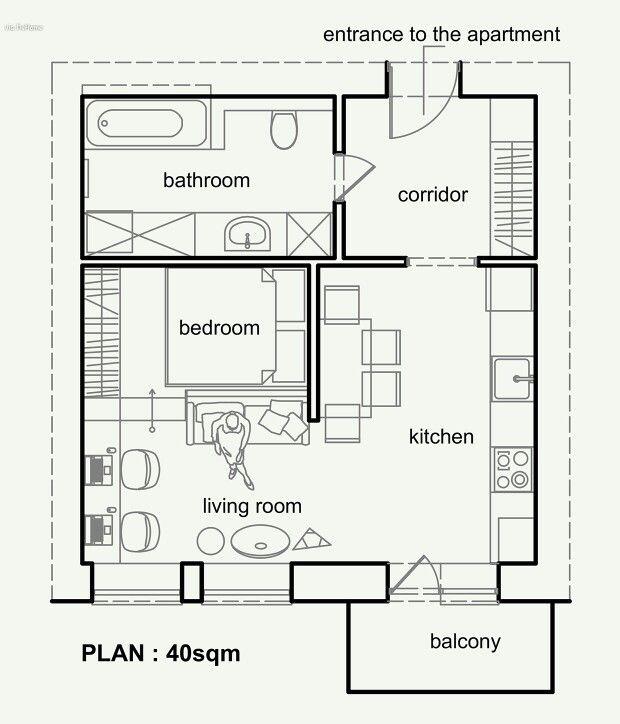 Apartamento tipo loft planos casa pinterest loft - Apartamento tipo loft ...