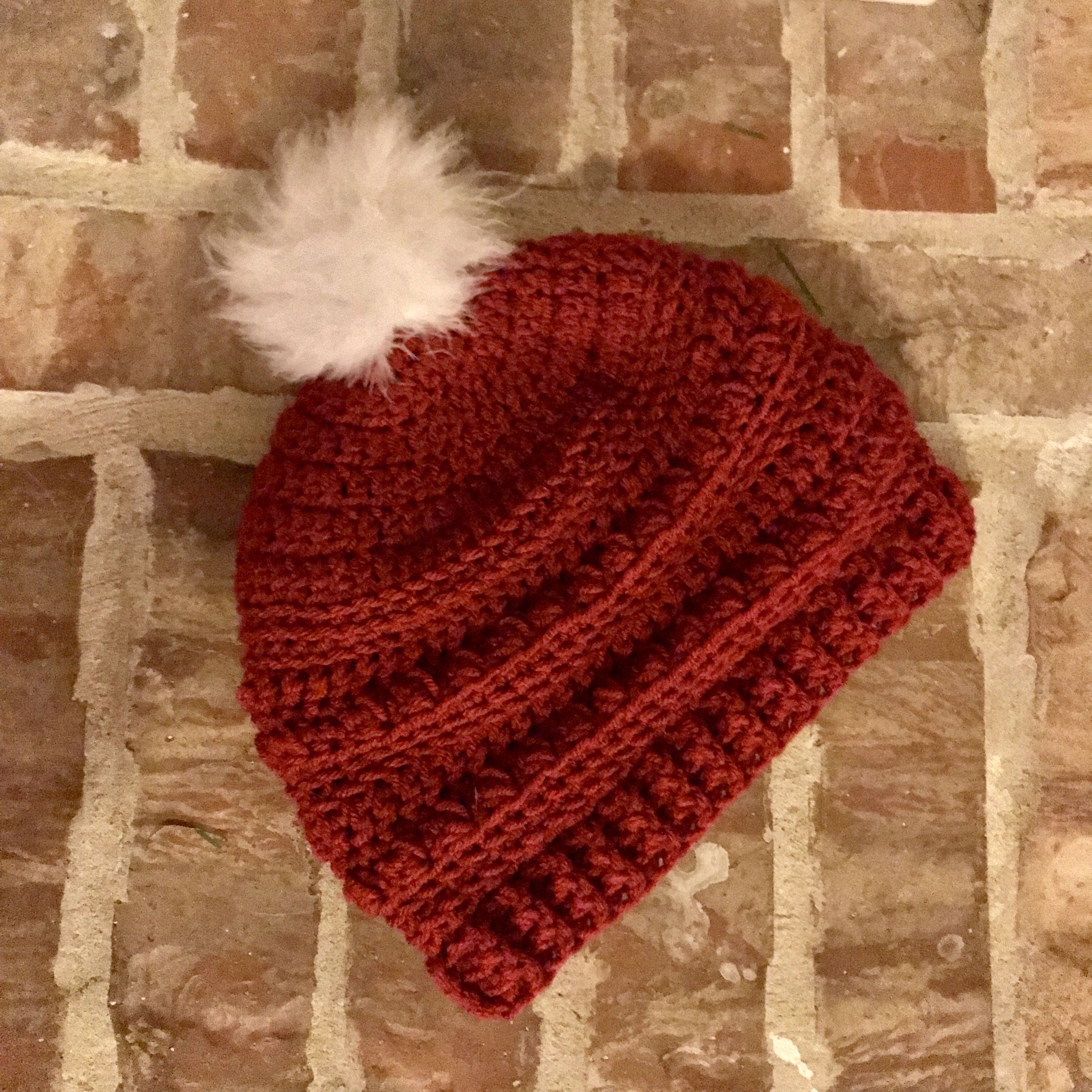 """FREE Crochet Pattern: The Slightly Slouchy """"Oh So Textured"""" Beanie ..."""