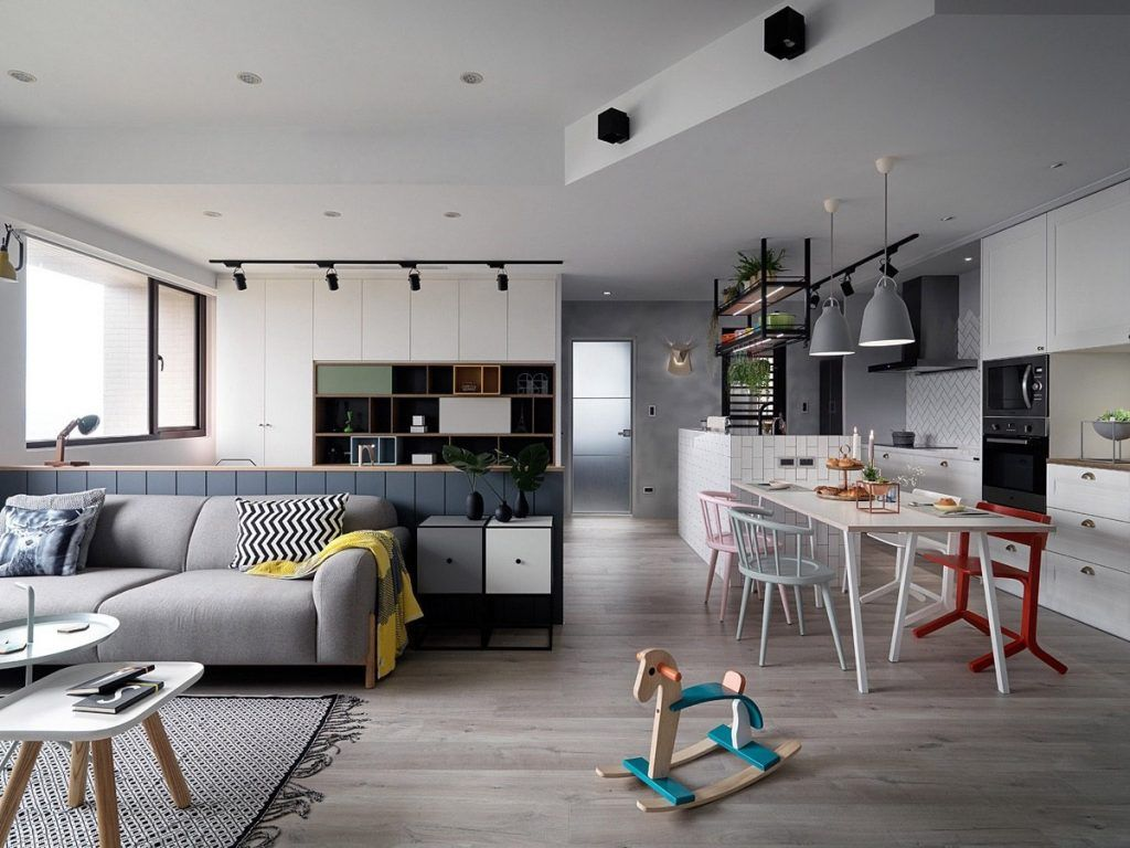 A Scandinavian Style Apartment With A Special Touch Of Coziness Apartment Interior Scandinavian Style Interior Home Decor