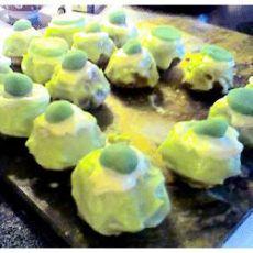 recipe: japanese green tea petits fours [4]