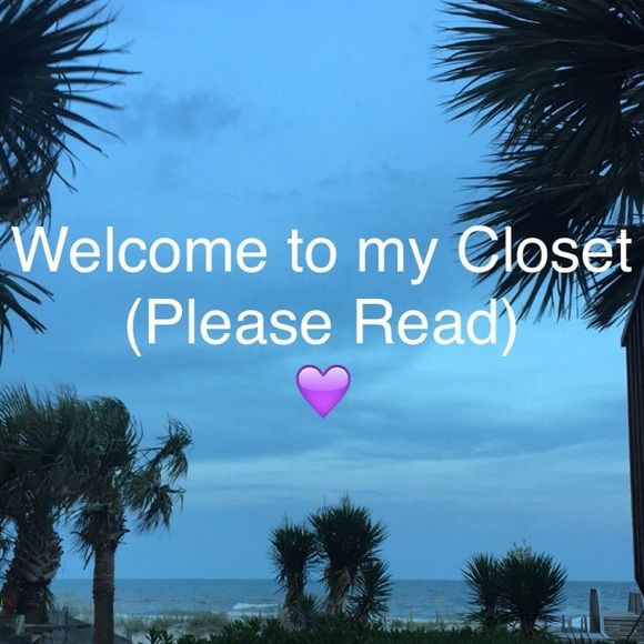 """Closet Details💕 ✔️Reasonable Offers Accepted ✔️I do not accept offers on """"Final Price"""" items or anything labeled as """"Firm Price"""" in the description. ✔️No Trades ✔️24 HR Hold Maximum ✔️Use offer button for negotiating prices and my bundle discount to bundle multiple items-they're there for a reason😉 ✔️No harassment, negativity, spamming or self-advertising unless you want to be blocked. Other"""