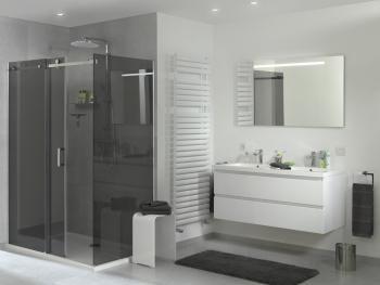 X2O | Storke Loft badkamer meubel/ meuble salle de bain black&white ...
