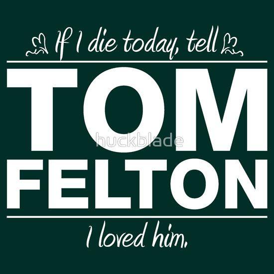 Tom Felton - If I Die Series (White)