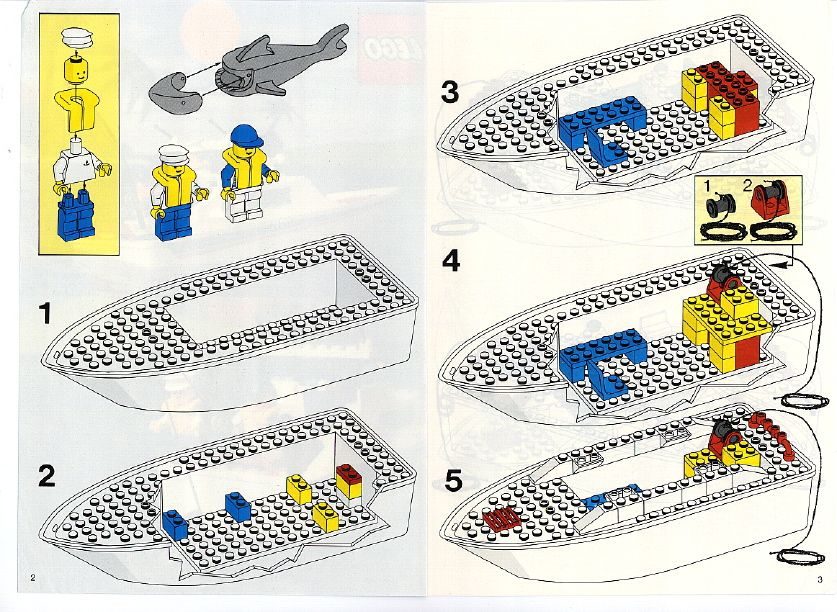 Old Lego Instructions Letsbuilditagain Com In 2021 Lego Lego Instructions Lego Boat