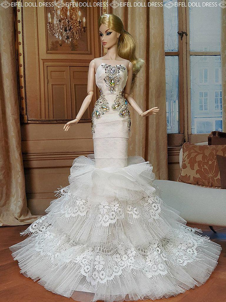 Evening Dress for sell EFDD | Barbie ชุด แต่งงาน | Pinterest | Check ...