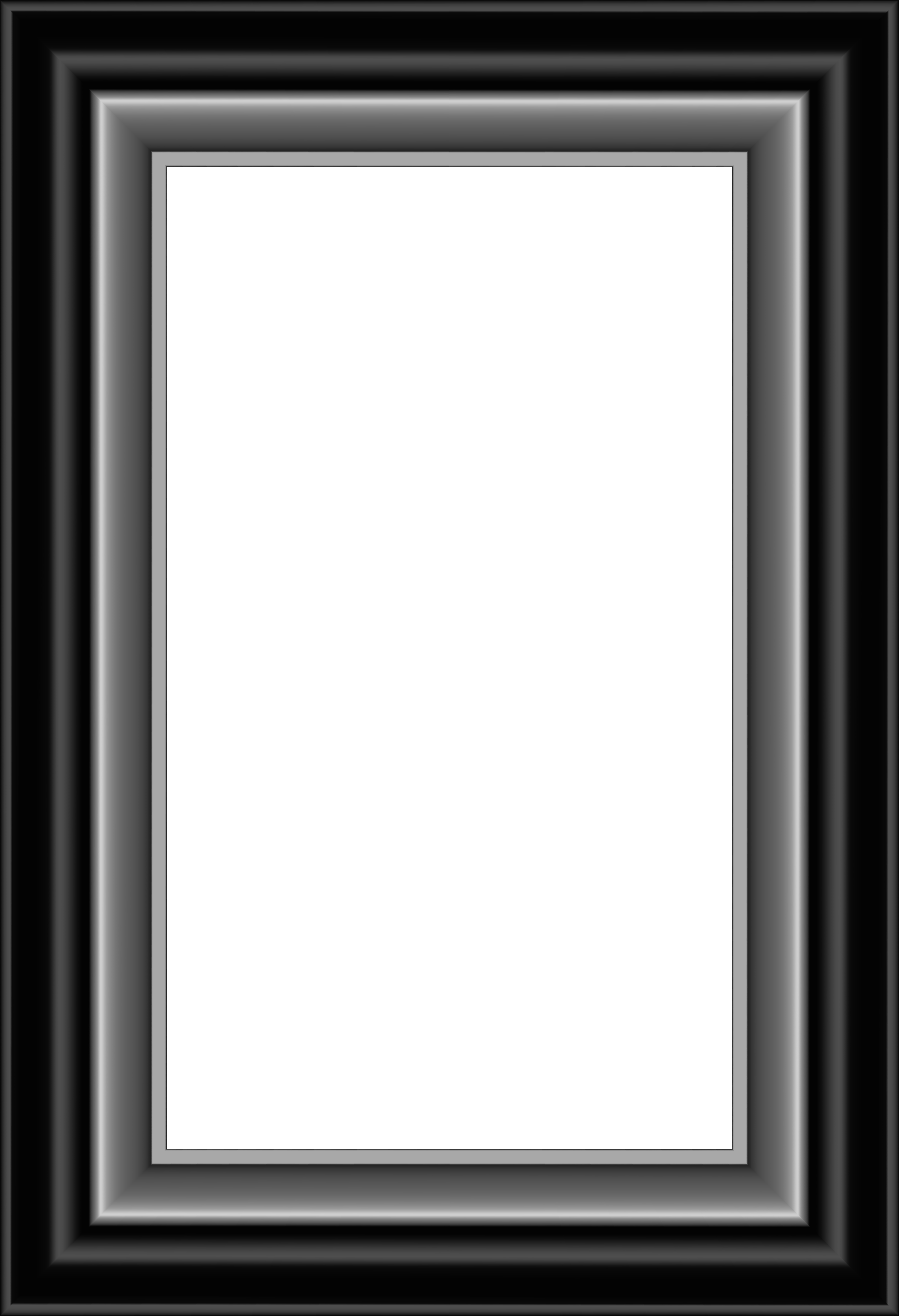 Black And Silver Frame Transparent Png Image Gallery Yopriceville High Quality Images And Transpare Photo Frame Gallery Silver Picture Frames Silver Frame