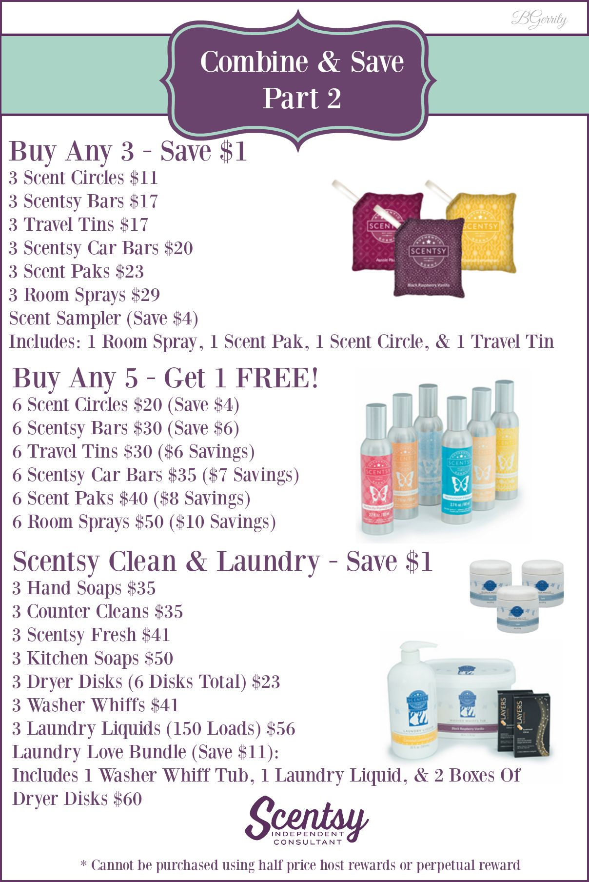 Scentsy Combine Save Part 2 Canadian Flyer Created By Brittany