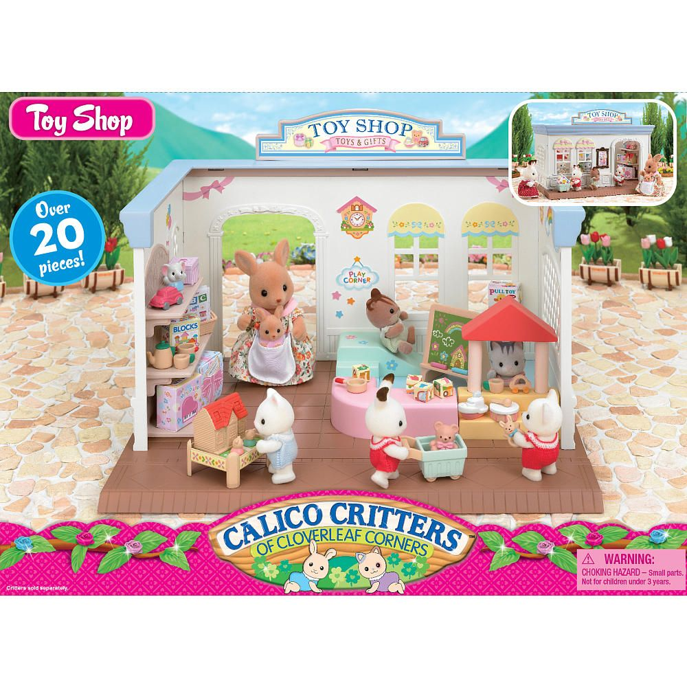 Whether your shopping for a Calico Critters house, furniture or a treehouse, you can find it here! Thank you for visiting Toys R Us. If you need assistance with shopping on our site, please call us at and a customer care representative will be happy to assist you.