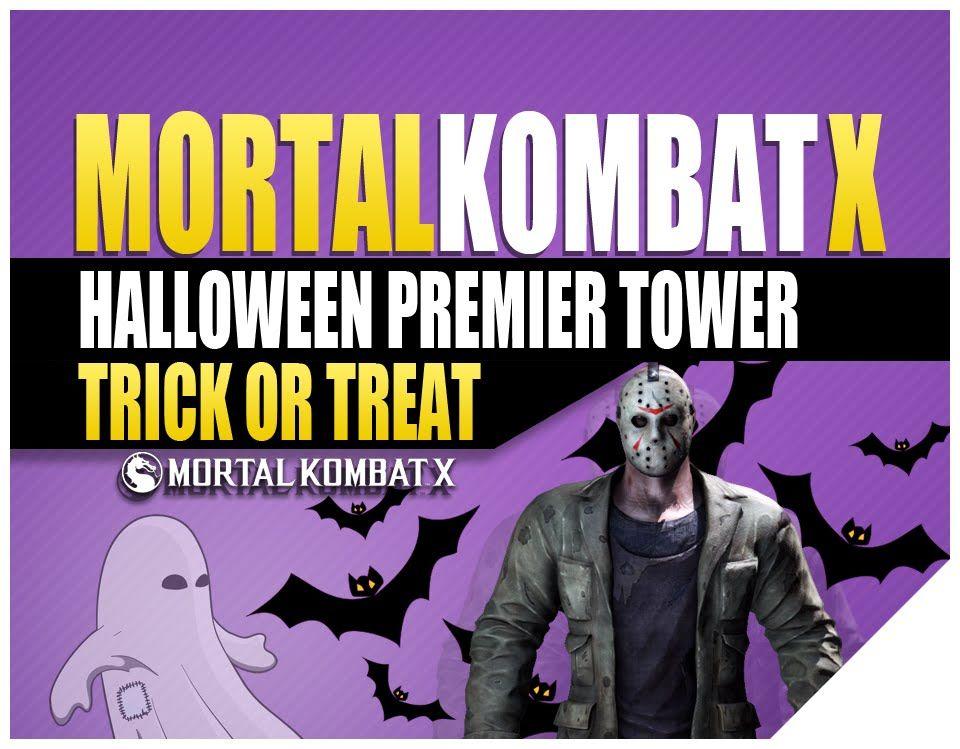 Mortal Kombat X Halloween Trick Or Treat Premier Tower   (MKX Jason)
