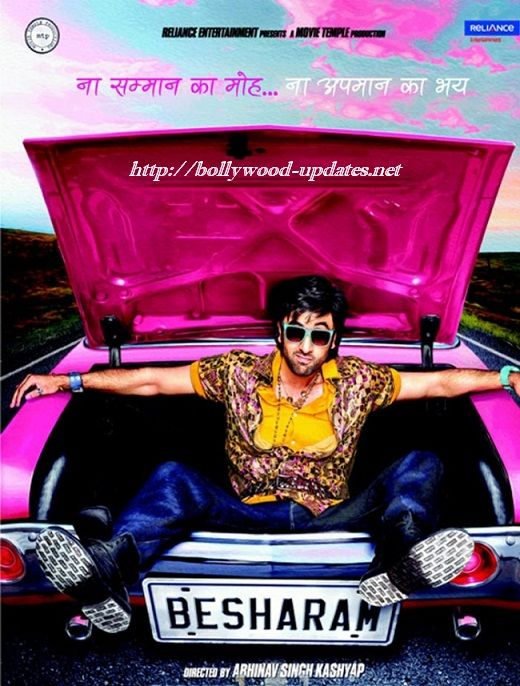 Ranbir Kapoor's Upcoming Movie 'Besharam' First Look ...