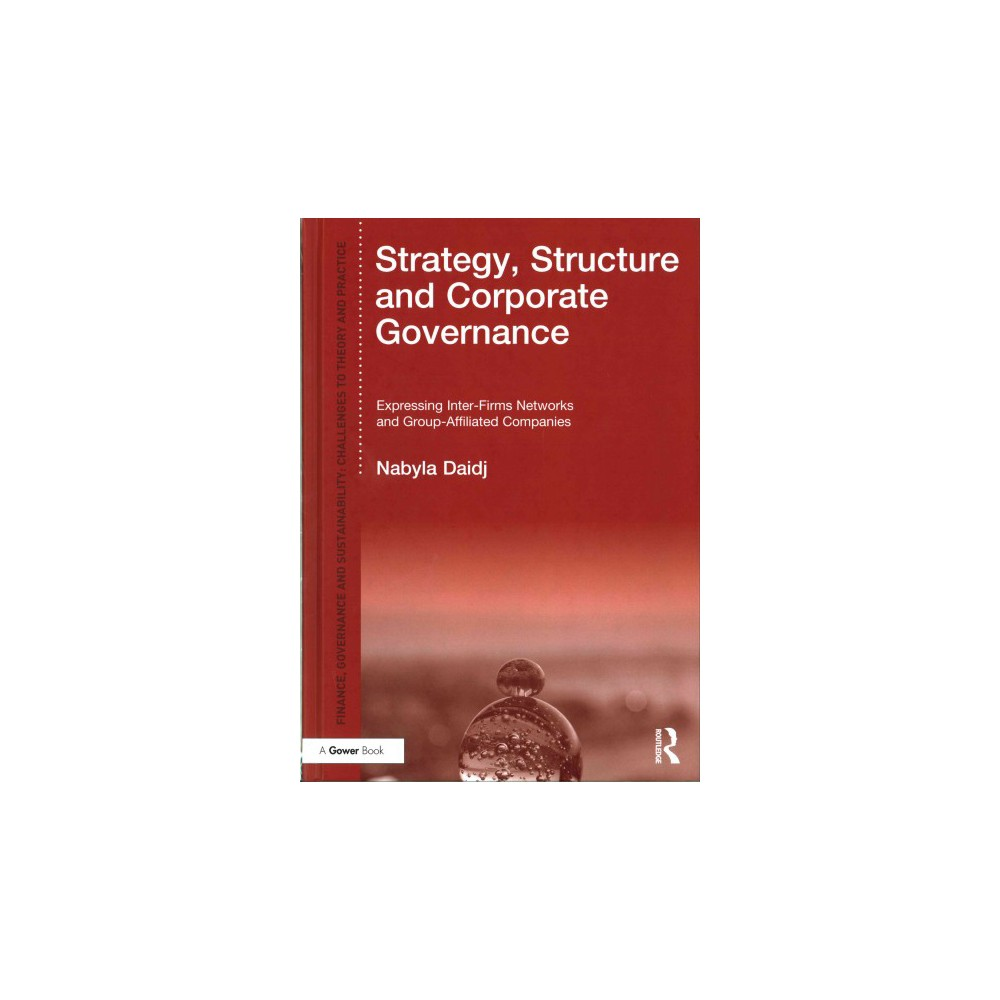 Strategy, Structure and Corporate Governance : Expressing Inter-Firm Networks and Group-Affiliated