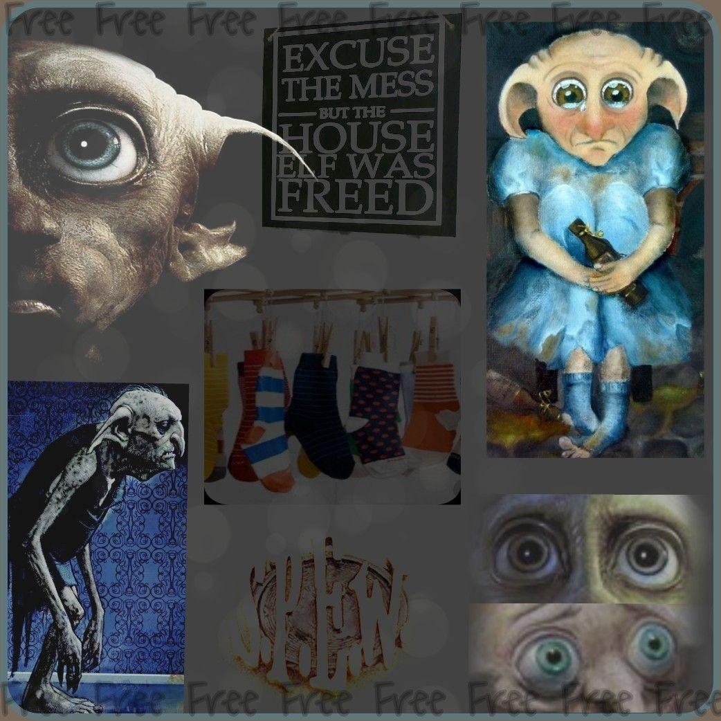 House Elf Known Dobby Winky Kreacher Organization For Them S P E W Edited By Ziggy Elf House Elf Dobby
