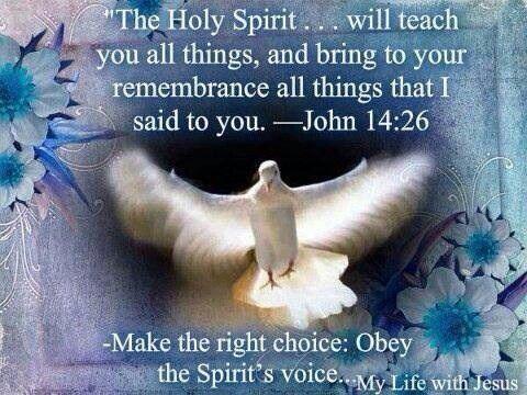 The Holy Spirit.