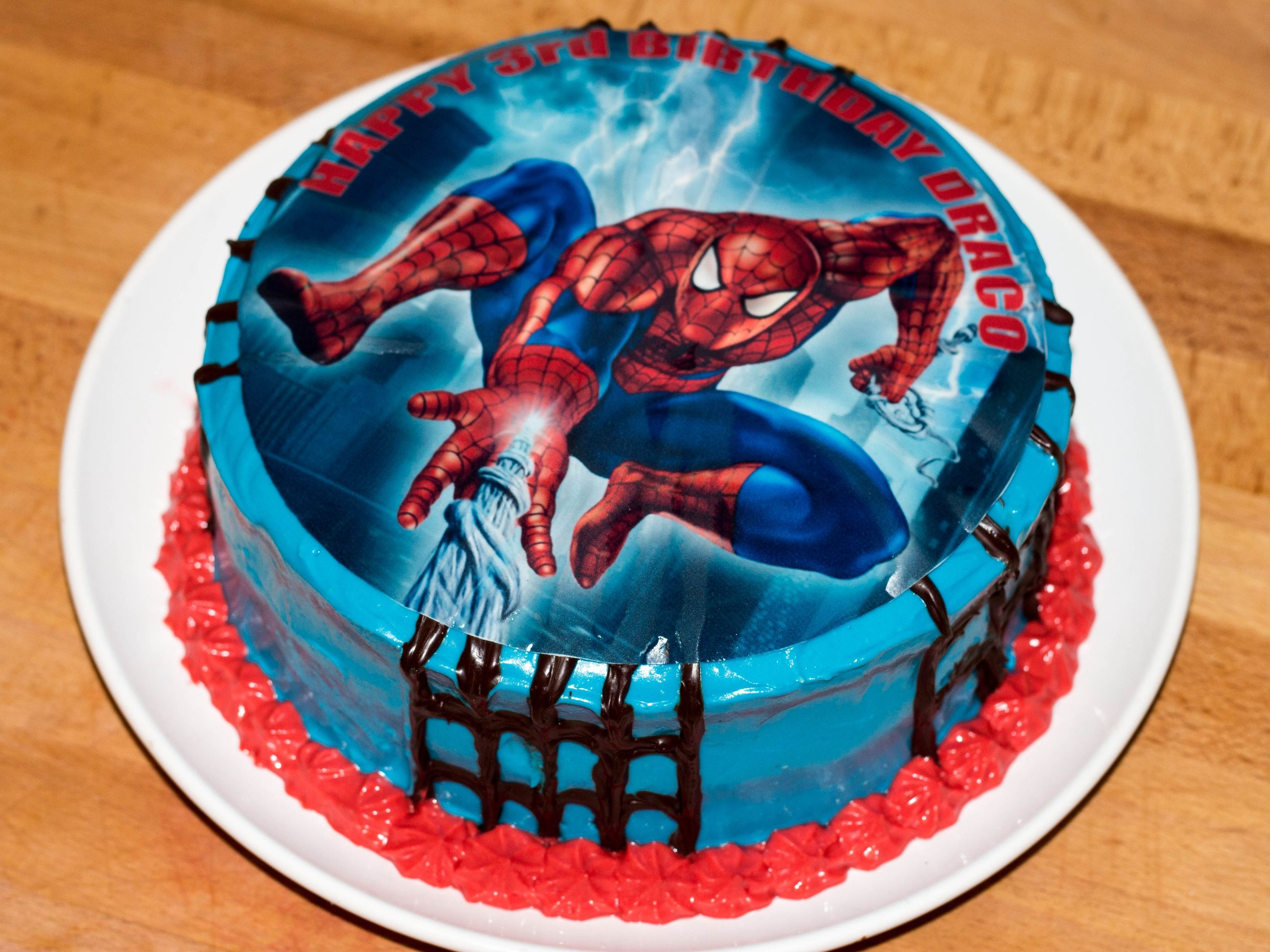 Spiderman Cakes For Boy With Images Spiderman Birthday Cake