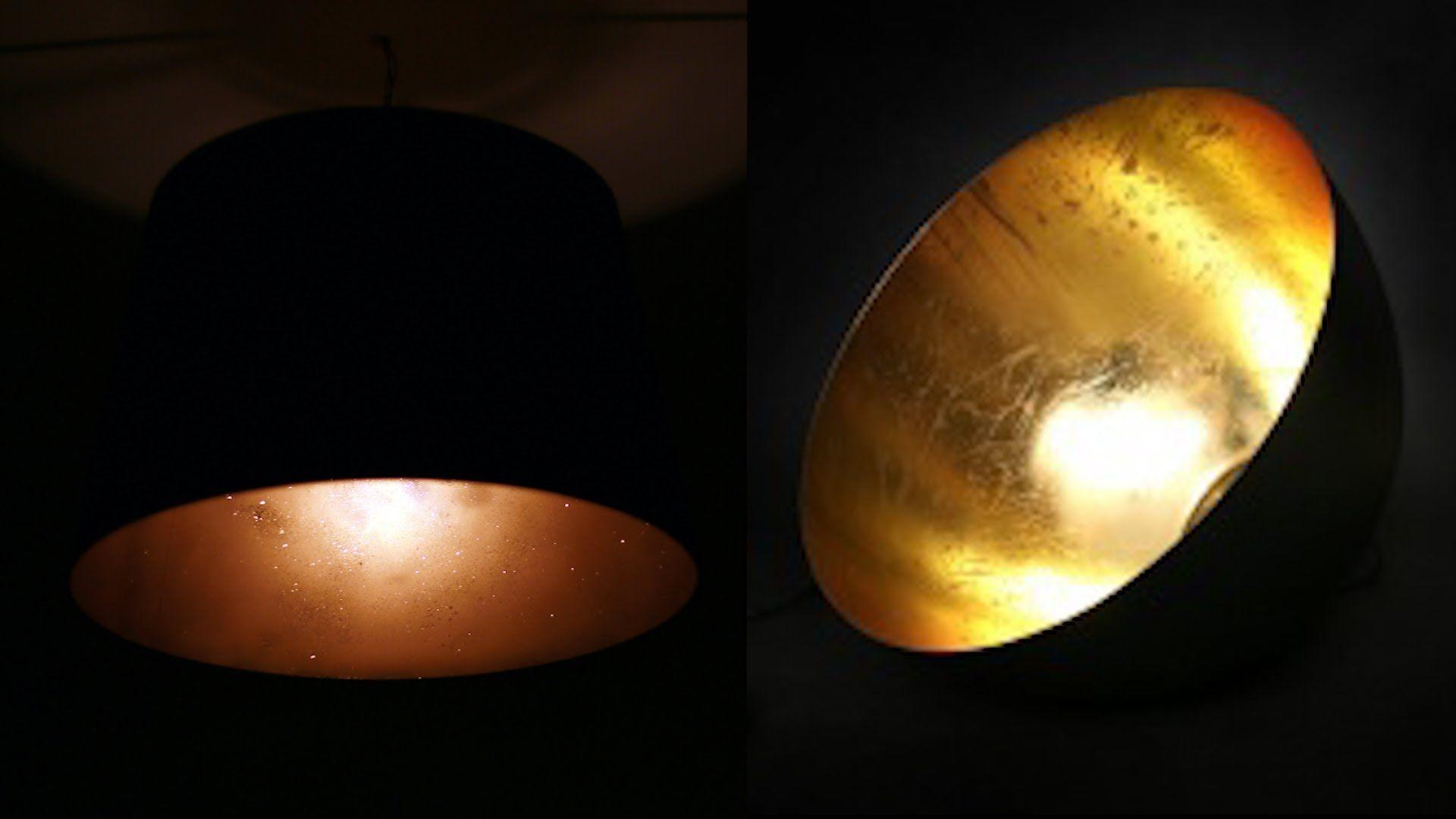 Diy Designer Lampe Gold Schwarz Ikea Hack Diy Pinterest Diy