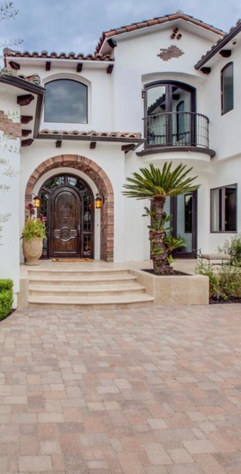 35 Ideas Exterior Stone Stucco Curb Appeal