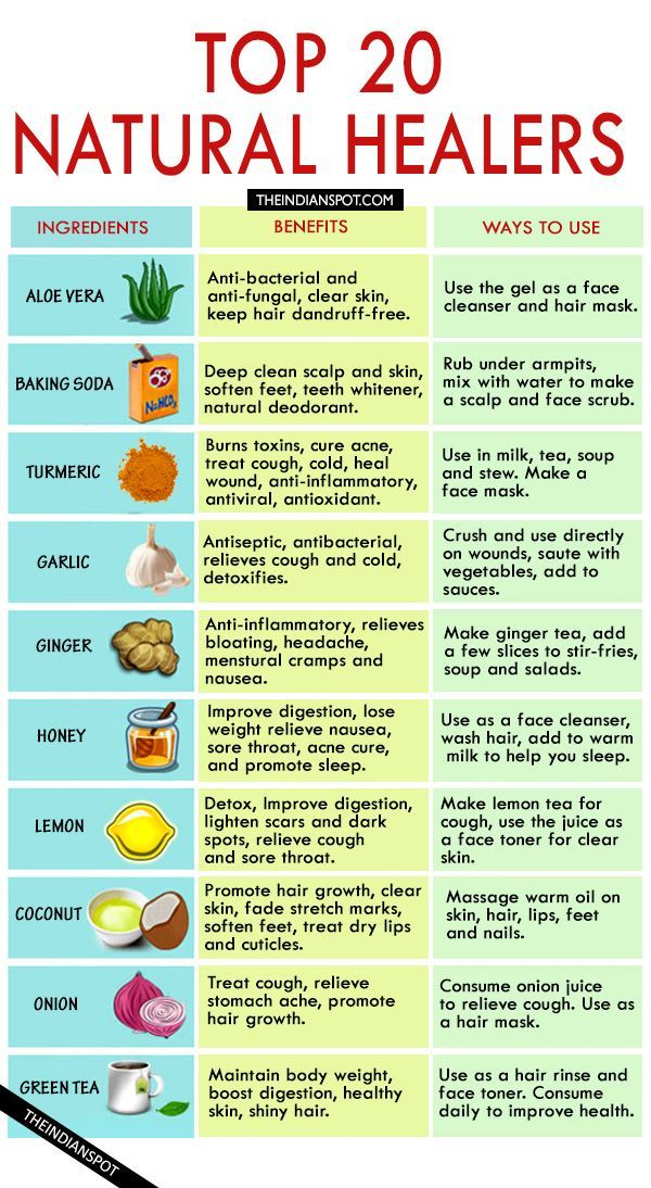 natural health cures