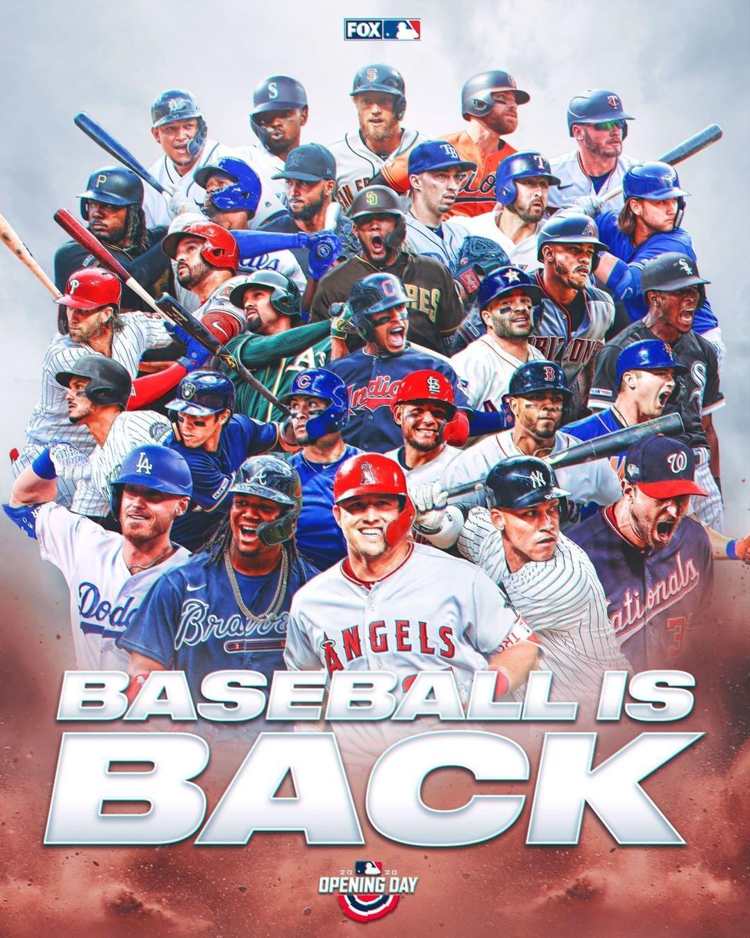 Mlb On Fox On Instagram It S Finally Here Happy Openingday In 2020 Baseball Season Major League Baseball Mlb