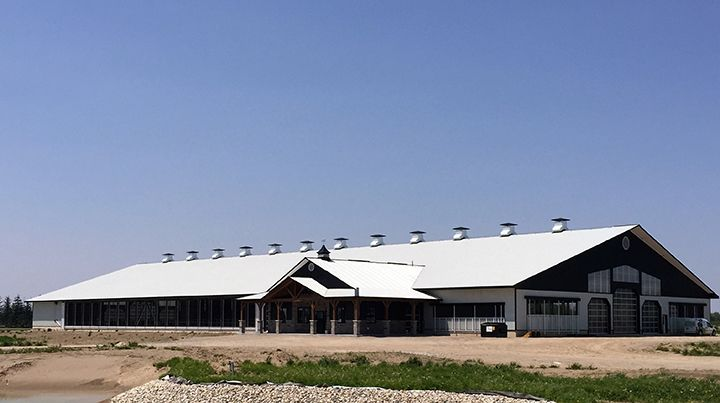 Vicwest Elhaven Farms Dairy Barn Stratford On 2016