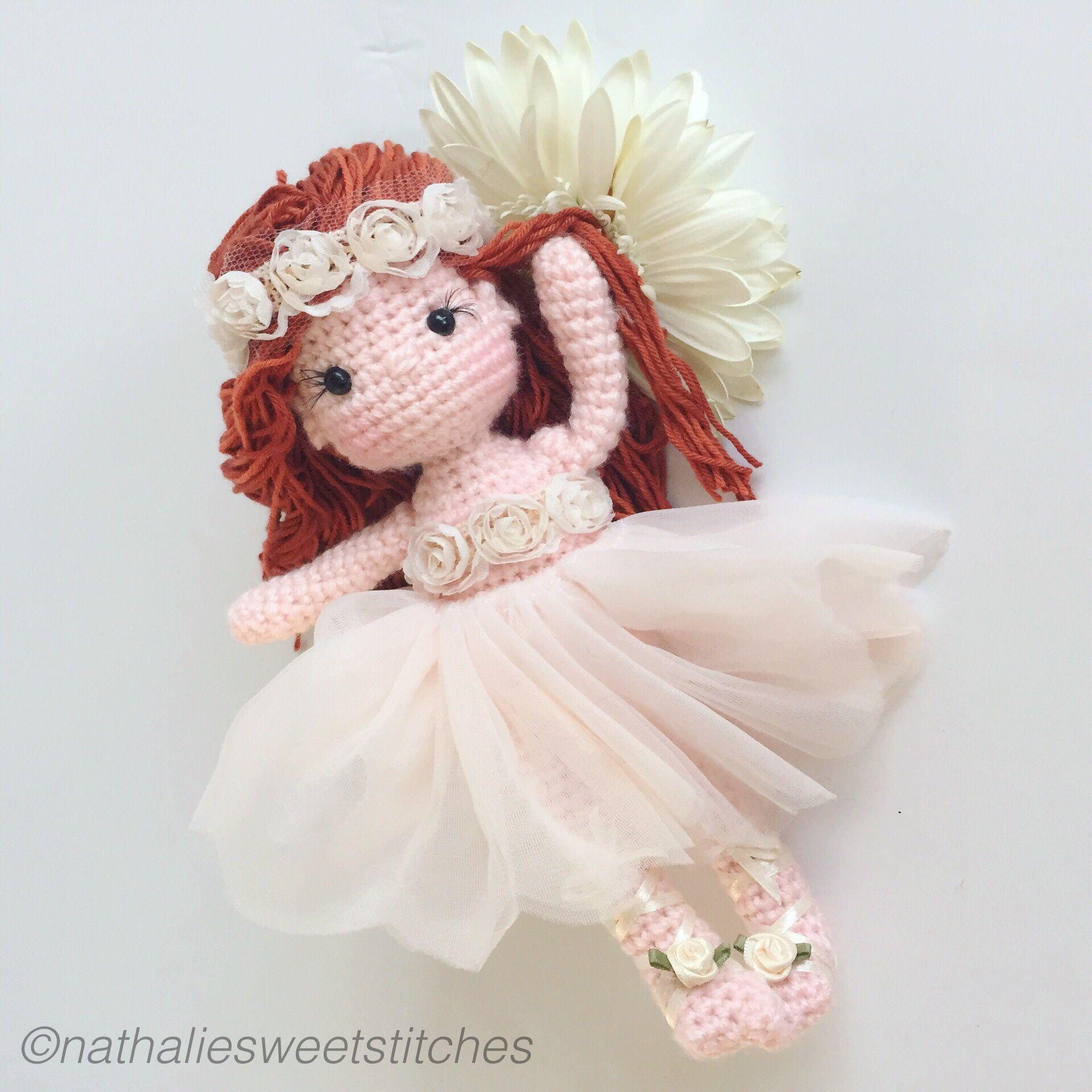 Flower Fairy Crochet Amigurumi Doll ☆