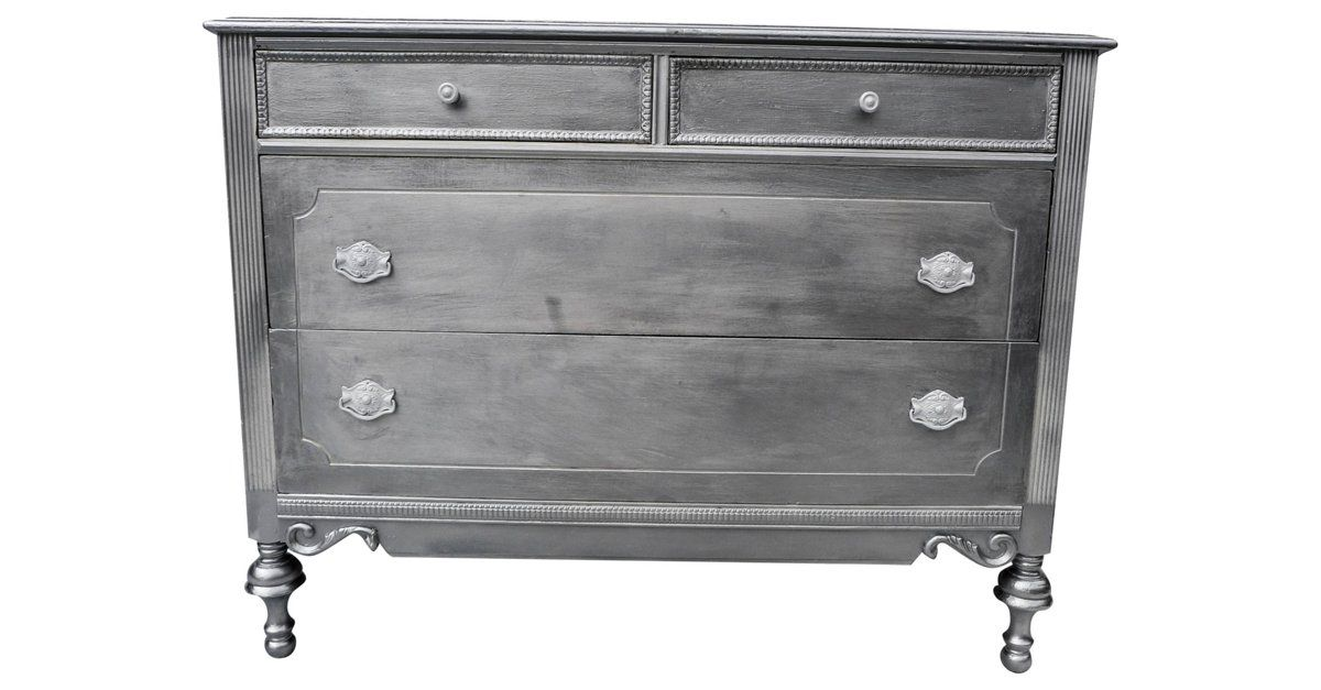 French-Style     Metallic Chest