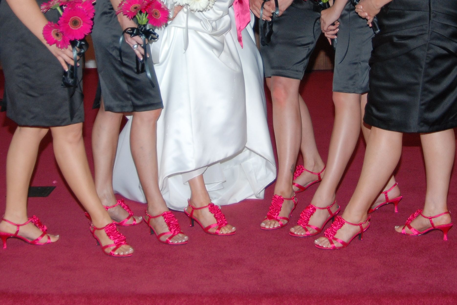 Pin By Kristin Berg On Cristi S Wedding Hot Pink Shoes Hot Pink Dresses Always A Bridesmaid [ 1247 x 1870 Pixel ]