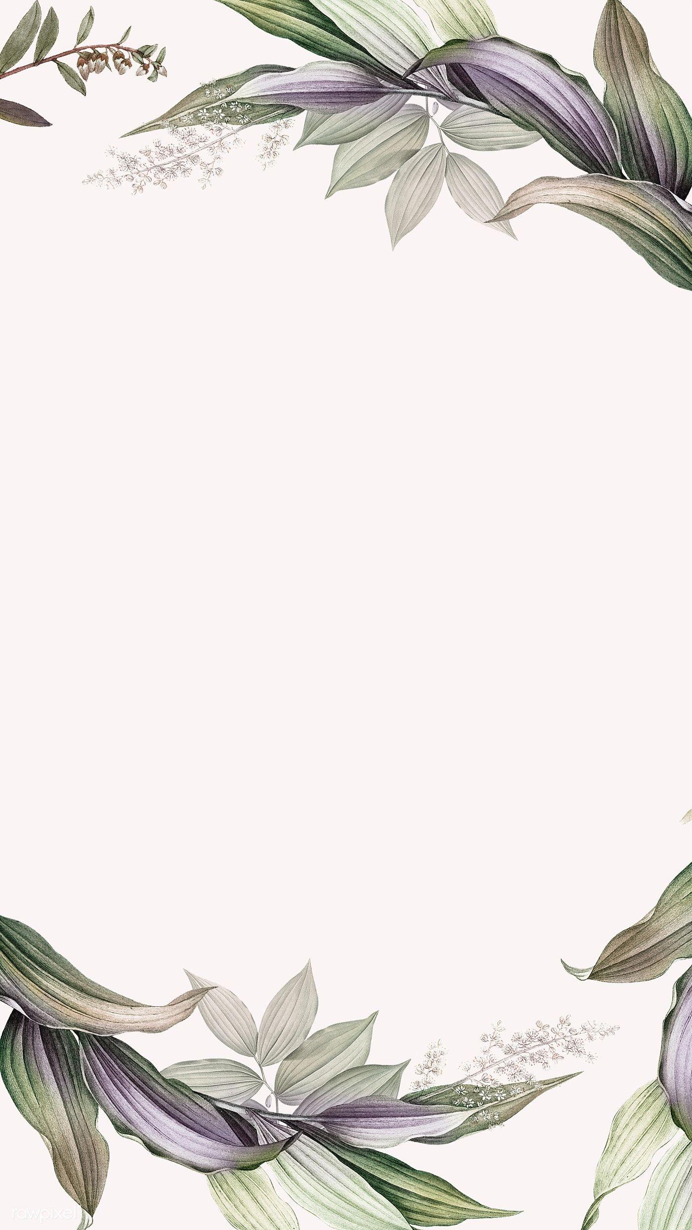 Download premium psd / image of Tropical botanical leaves background illustration by Kul about Tropical botanic leaves background illustration, purple, Leaf pattern frame design illustration, art, and backdrop 599240